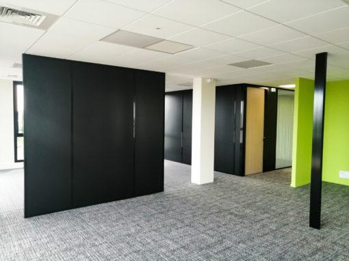 Office pleine