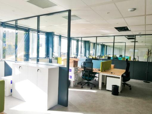 Office vitrée sur allège